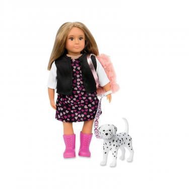Кукла LORI Гиа с собачкой Далматинец 15 см (LO31058Z) - фото 1