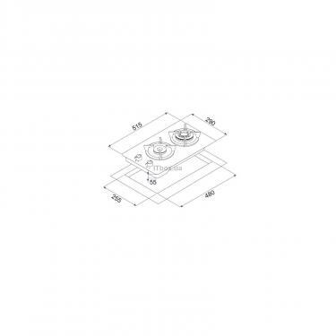 Варочная поверхность MINOLA MGG 31263 WH - фото 8