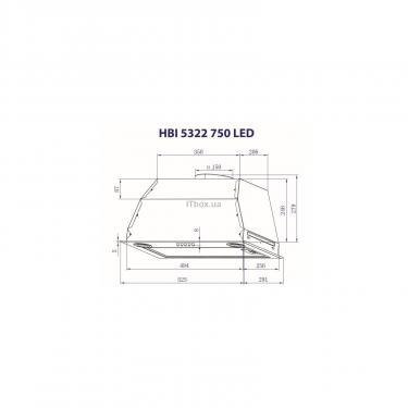Витяжка кухонна Minola HBI 5322 I 750 LED - фото 8