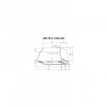 Витяжка кухонна Minola HBI 7812 I 1200 LED - фото 8