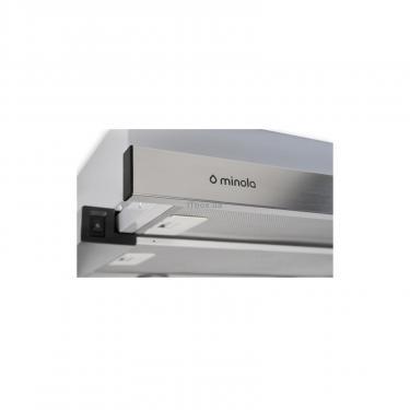 Вытяжка кухонная Minola HTL 6112 FULL INOX 650 LED Фото 3