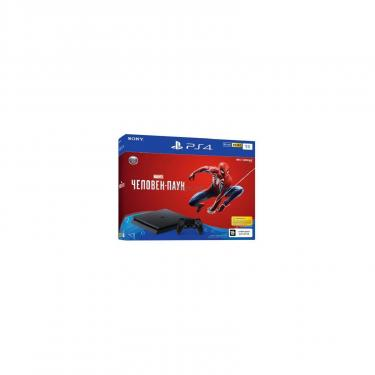 Игровая консоль SONY PlayStation 4 Slim 1Tb Black (Spider-Man) (9763215) - фото 1