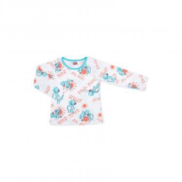 Пижама Breeze с кактусами (10020-110B-white) - фото 2