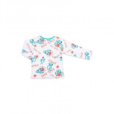 Пижама Breeze с кактусами (10020-110B-white) - фото 5