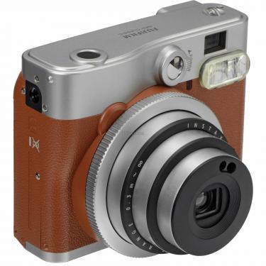 Камера миттєвого друку Fujifilm Instax Mini 90 Instant camera Brown EX D (16423981) - фото 3