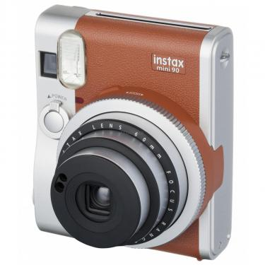 Камера миттєвого друку Fujifilm Instax Mini 90 Instant camera Brown EX D (16423981) - фото 1