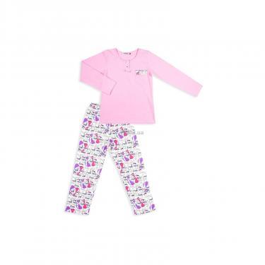 Пижама Matilda с котиками (4158-122G-pink) - фото 1