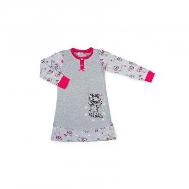 Пижама Matilda с котом (7364-140G-gray) - фото 1