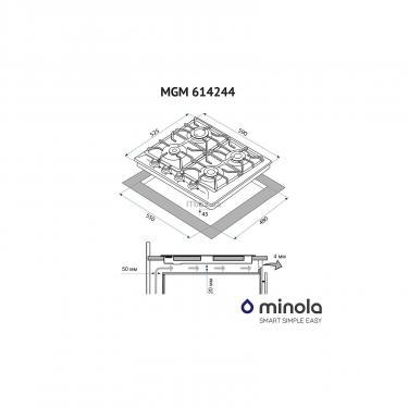 Варочная поверхность Minola MGM 614244 IV Фото 9