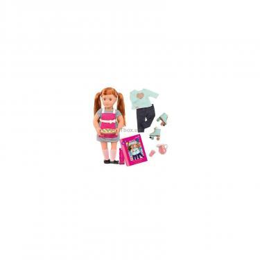 Кукла Our Generation DELUXE Ноа готовит обед с книгой Фото 1