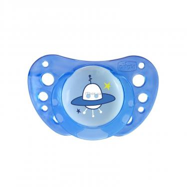 Пустушка Chicco Physio Air силіконова 16 міс+ 2 шт блак (75034.21.00.00) - фото 3