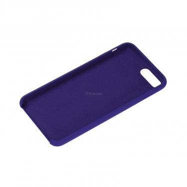 Чехол для моб. телефона 2E Apple iPhone 7/8 Plus, Liquid Silicone, Deep Purple (2E-IPH-7/8P-NKSLS-DP) - фото 2