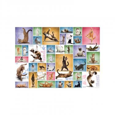 Пазл Eurographics Йога. Кошки 1000 элементов Фото 2