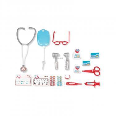 Игровой набор Smoby Тележка медицинской помощи с оборудованием Фото 1