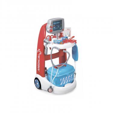 Игровой набор Smoby Тележка медицинской помощи с оборудованием Фото
