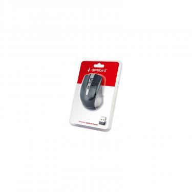 Мышка Gembird MUSW-4B-04-GB Black+Grey Фото 2