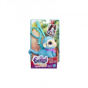 Интерактивная игрушка Hasbro Furreal Friends Маленький питомец на поводке Обезь Фото 1