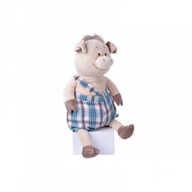 Мягкая игрушка Same Toy Свинка в комбинезоне 60 см Фото 1