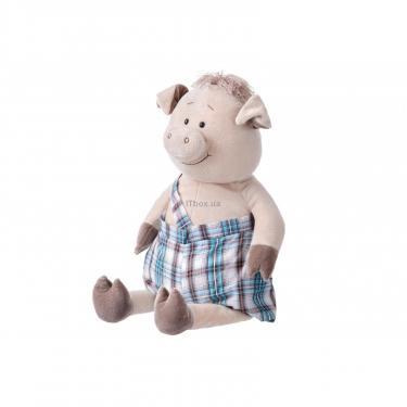 Мягкая игрушка Same Toy Свинка в комбинезоне 60 см Фото