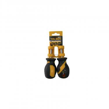 Набор инструментов Tolsen коротких ударных отверток SL6,5*38мм+PH2*38мм Фото