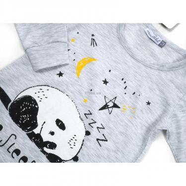 Пижама Matilda с пандами (12122-2-116B-gray) - фото 4