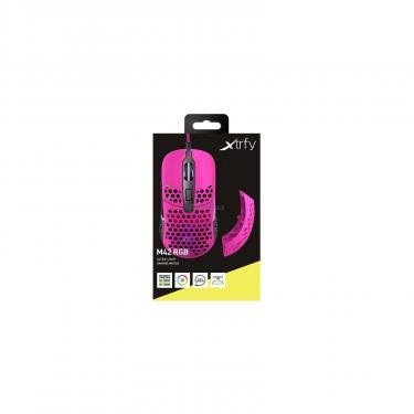 Мышка Xtrfy M42 RGB Pink Фото 9