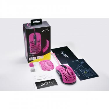 Мышка Xtrfy M42 RGB Pink Фото 11