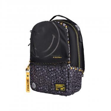 Рюкзак школьный Yes T-124 Smiley World.BlackYellow черный Фото 3