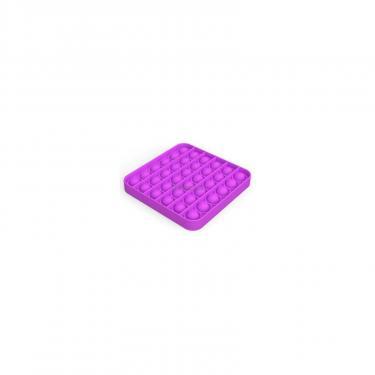 Игровой набор Sibelly антистресс Pop It Mono Square Violet Фото 1