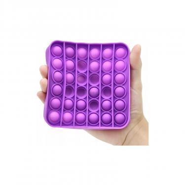 Игровой набор Sibelly антистресс Pop It Mono Square Violet Фото 2