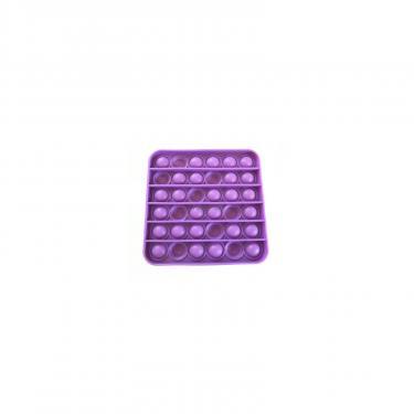 Игровой набор Sibelly антистресс Pop It Mono Square Violet Фото