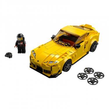 Конструктор LEGO Speed Champions Toyota GR Supra 299 деталей Фото 1