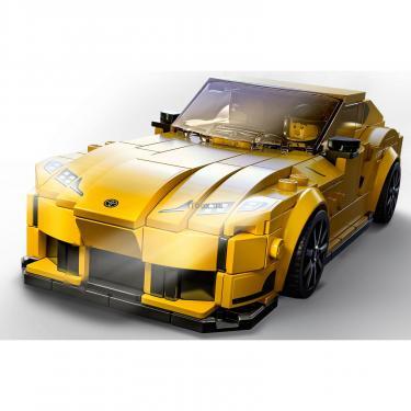 Конструктор LEGO Speed Champions Toyota GR Supra 299 деталей Фото 2