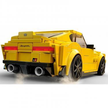 Конструктор LEGO Speed Champions Toyota GR Supra 299 деталей Фото 4