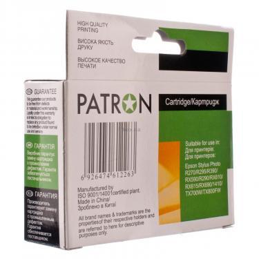 Картридж PATRON для EPSON R270/290/390/RX590 YELLOW (PN-0824) (CI-EPS-T08144-Y3-PN) - фото 4