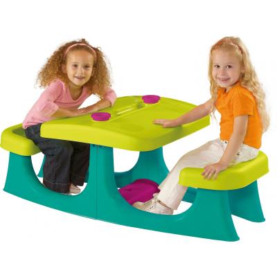 Детский стол Keter Patio center WM Turquoise (17192433857)