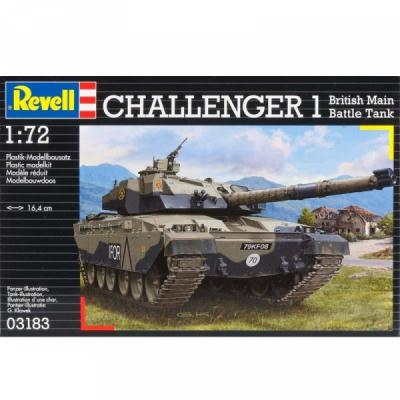 Сборная модель Revell Танк Challenger I 1:72 (3183)