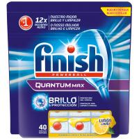 Таблетки для посудомоечных машин Finish Quantum Лимон 40 шт (5900627044362)