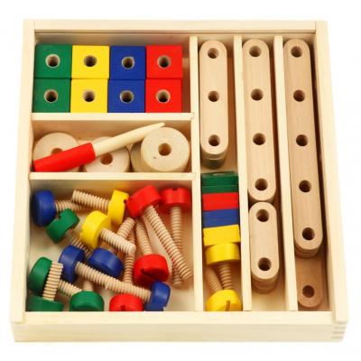 Конструктор Viga Toys деревянный (50490VG)