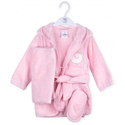Халат Bibaby с аксессуарами (66126-86G-pink)