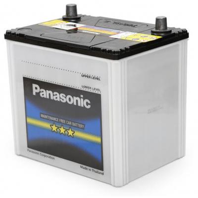 Аккумулятор автомобильный PANASONIC 65Ah, 491A (N-75D23L-FS)